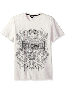 Just Cavalli Men's Graphic T-Shirt  XXXL