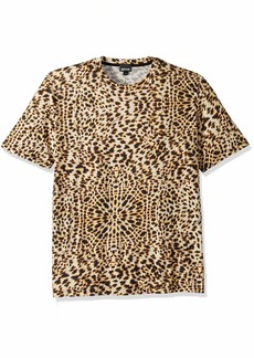 Just Cavalli Men's Graphic tee tan S