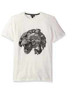 Just Cavalli Mens Lion Print Tee  L