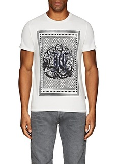 Just Cavalli Men's Logo-Print Cotton T-Shirt
