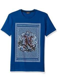 Just Cavalli Men's Logo Tee  L
