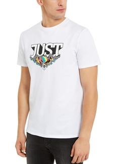 Just Cavalli Men's Psychedelic Logo Graphic T-Shirt