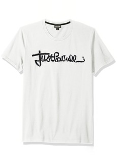 Just Cavalli Mens Signature Tee  L