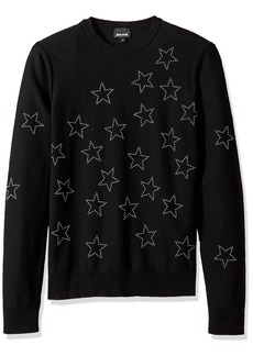 Just Cavalli Men's Star Sweatshirt  S