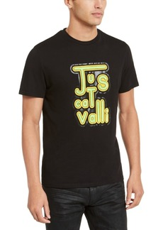 Just Cavalli Men's Vintage Logo Graphic T-Shirt