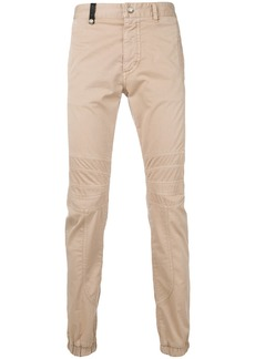 Just Cavalli panelled chinos - Brown