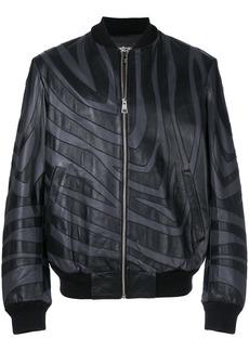 Just Cavalli patterned bomber jacket