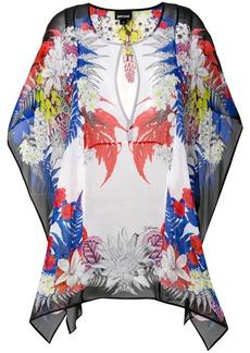 Just Cavalli printed tunic mini dress - Multicolour