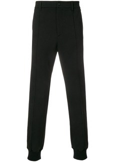 Just Cavalli ribbed cuff trousers