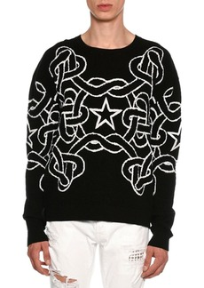Just Cavalli Rope & Star Knit Sweater