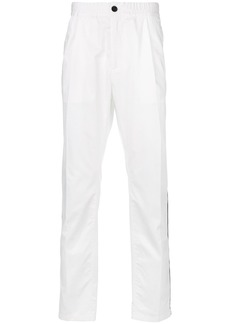 Just Cavalli side stripe trousers - White