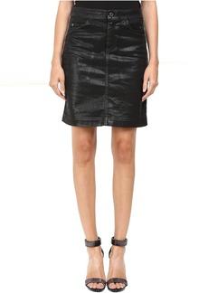 Just Cavalli Tinted Runway Denim Skirt