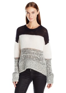 Just Cavalli Women's Chunky Knit Striped Sweater  XS