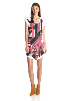 Just Cavalli Women's Printed T-Shirt Dress