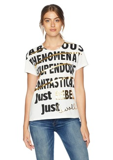 Just Cavalli Women's tee Shirt Off  XL