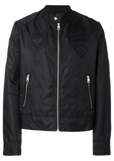 Just Cavalli zipped biker jacket - Black