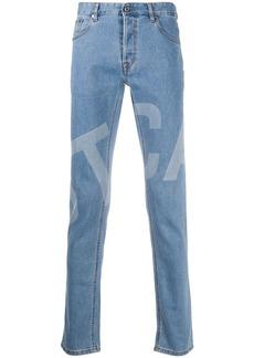 Just Cavalli Just-fit logo-print jeans