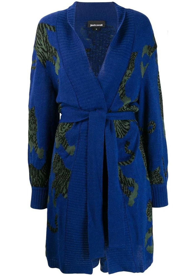 Just Cavalli knitted cardi-coat