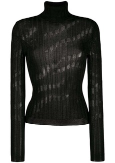 Just Cavalli knitted turtleneck top