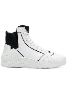 Just Cavalli lace-up hi-top sneakers