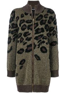 Just Cavalli leopard pattern cardigan