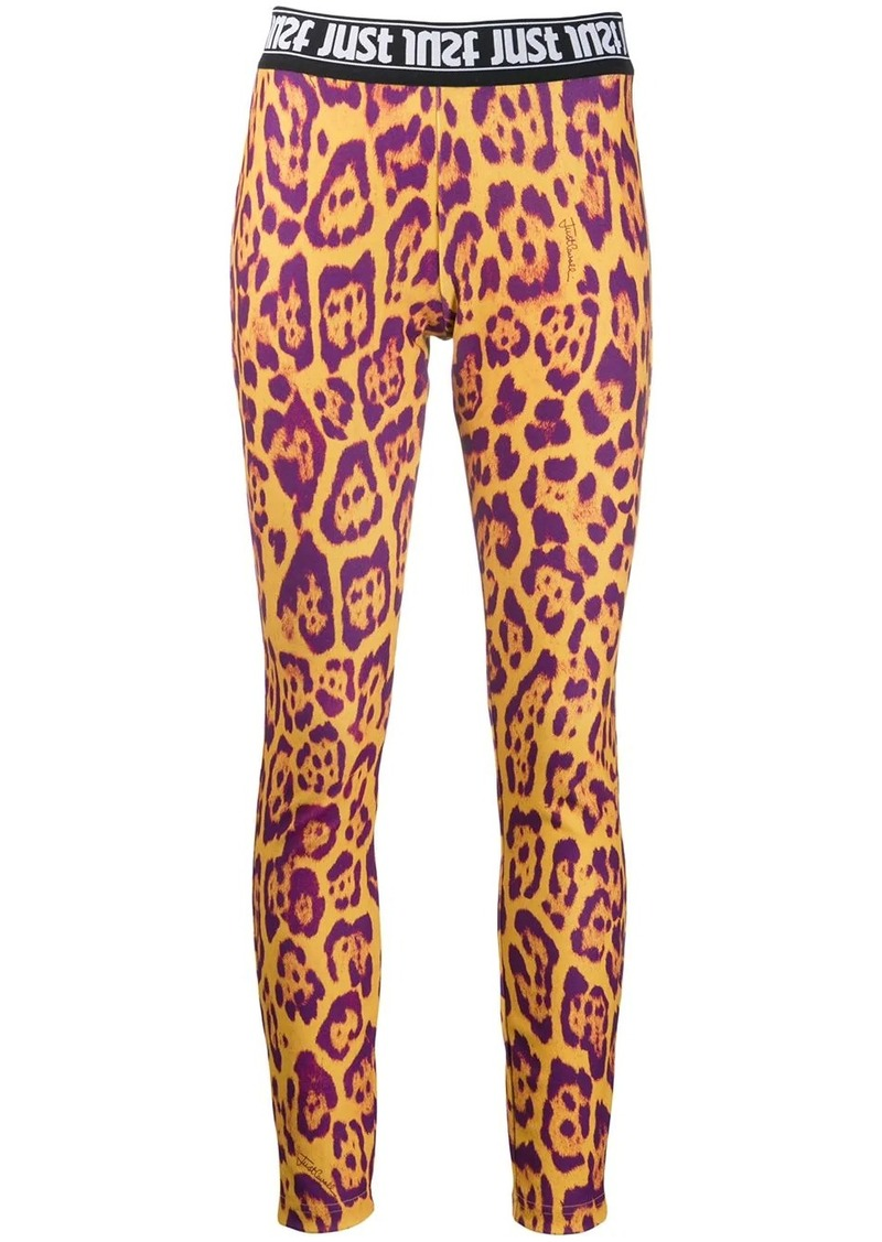 Just Cavalli leopard print leggings