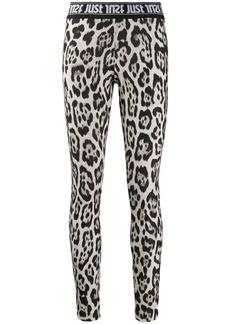 Just Cavalli leopard print leggings