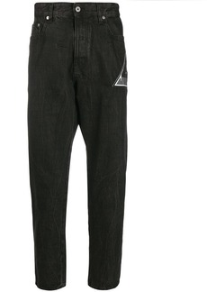 Just Cavalli logo patch slim jeans