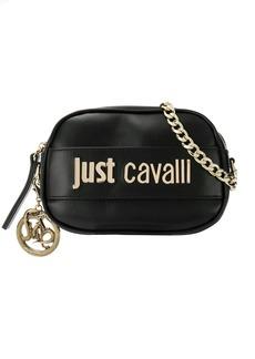 Just Cavalli logo plaque cross body bag