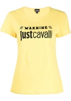Just Cavalli logo-print T-shirt