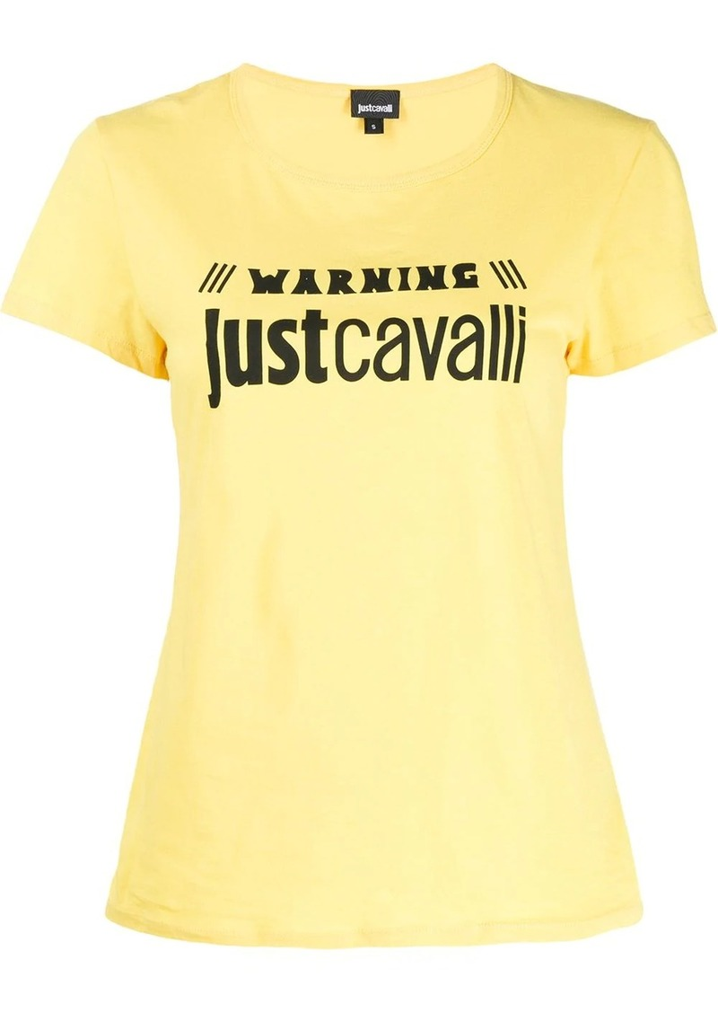 Just Cavalli logo-print T-shirt