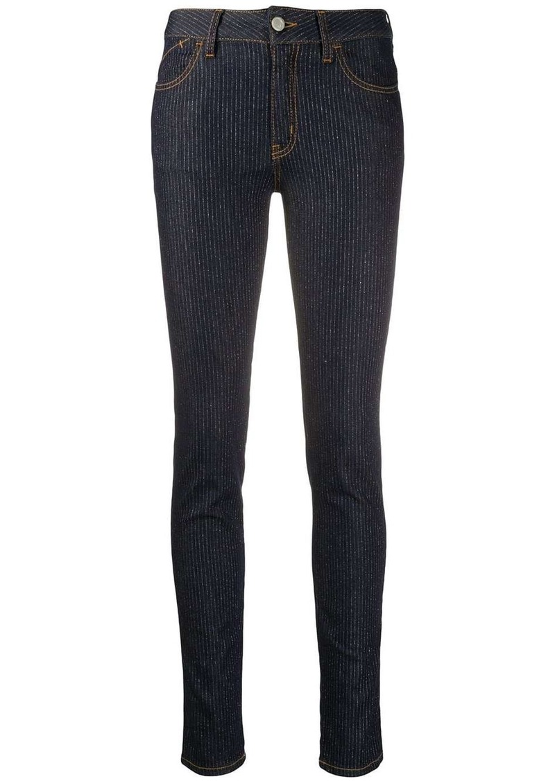 Just Cavalli logo skinny-fit jeans