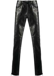 Just Cavalli logo waist skinny trousers