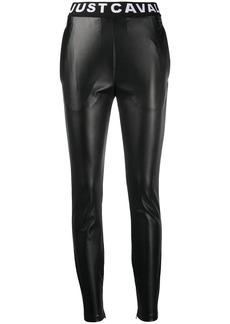 Just Cavalli logo waistband leggings