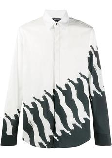 Just Cavalli long-sleeved printed shirt