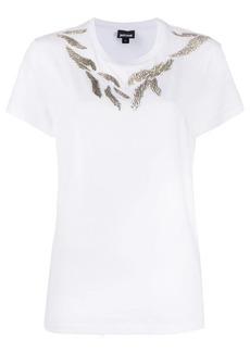 Just Cavalli metal embellished T-shirt