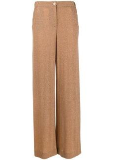 Just Cavalli metallic palazzo pants