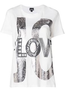 Just Cavalli metallic print T-shirt