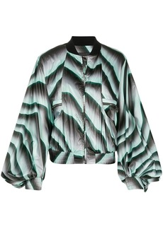 Just Cavalli oversized bomber jacket
