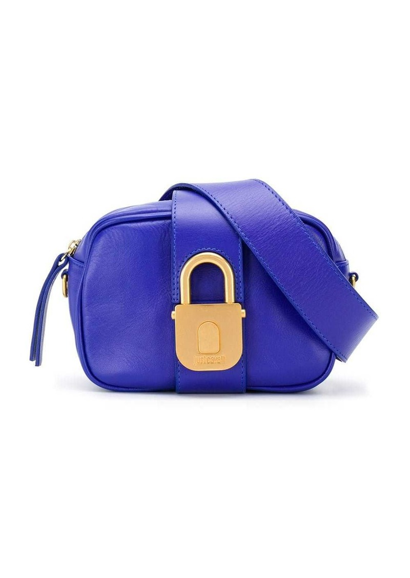 Just Cavalli padlock clasp belt bag