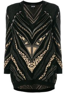 Just Cavalli patterned jumper