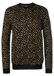 Just Cavalli patterned sweater