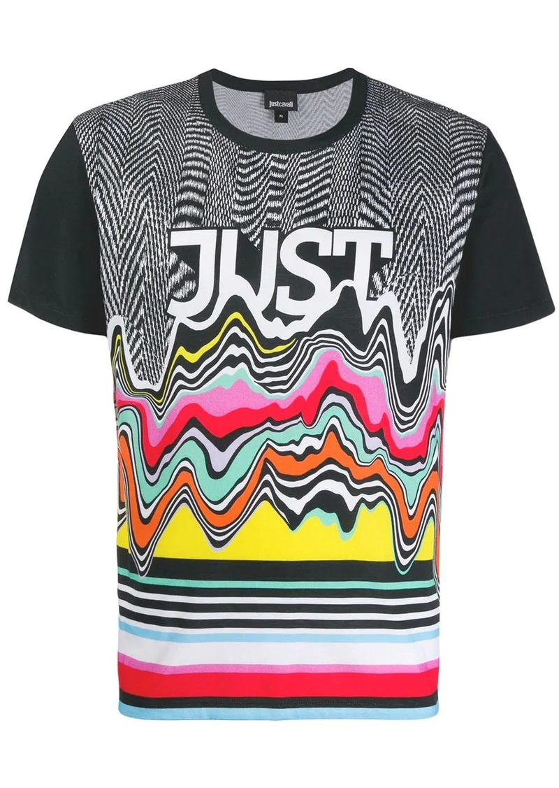 Just Cavalli patterned T-shirt
