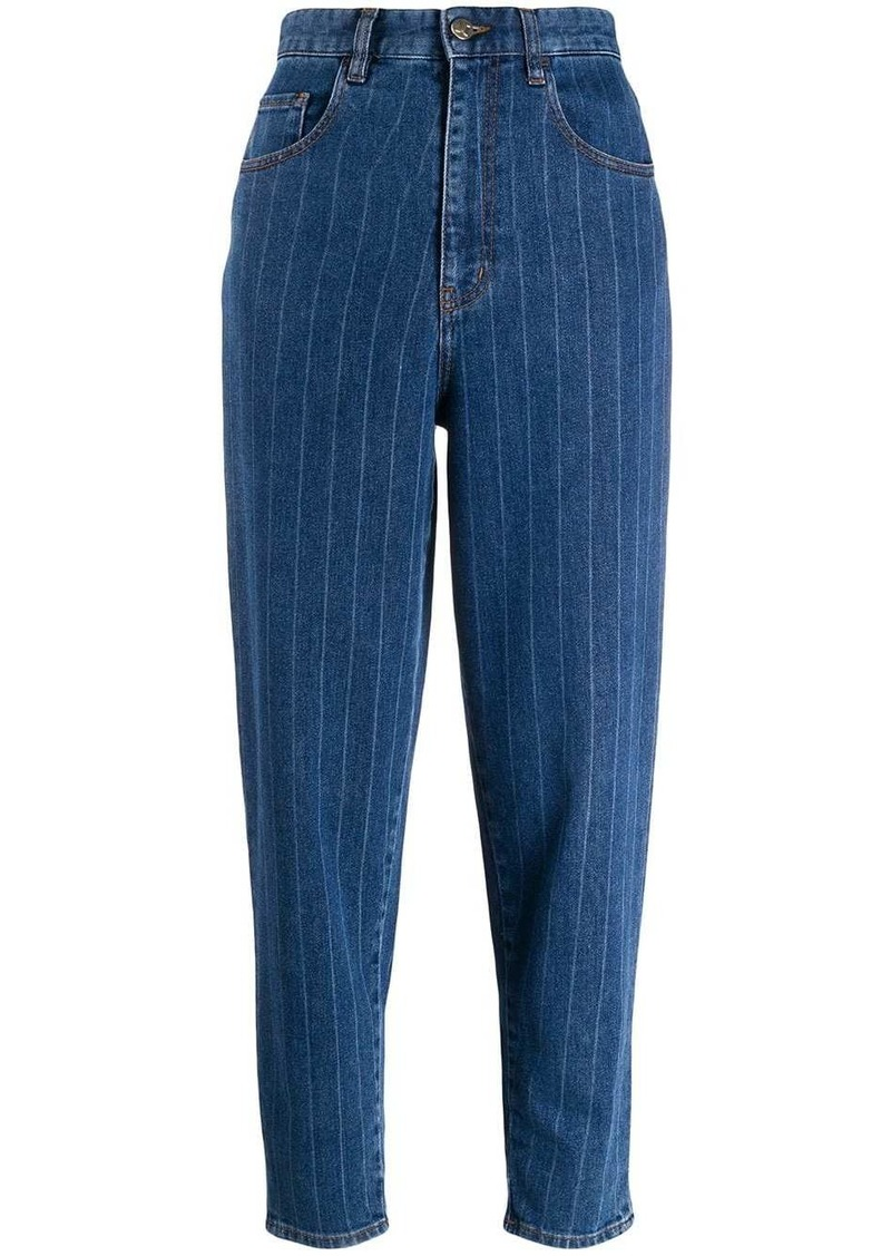 Just Cavalli pinstriped jeans