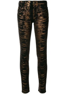 Just Cavalli printed jeans