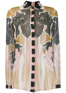 Just Cavalli printed long sleeve shirt