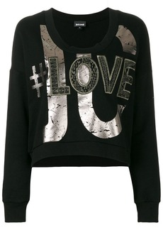 Just Cavalli printed sweatshirt