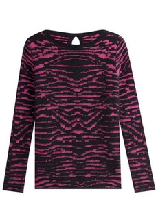 Just Cavalli Pullover with Mohair and Wool