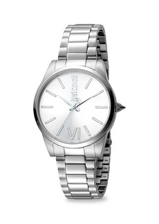 Just Cavalli Relaxed Stainless Steel Bracelet Watch