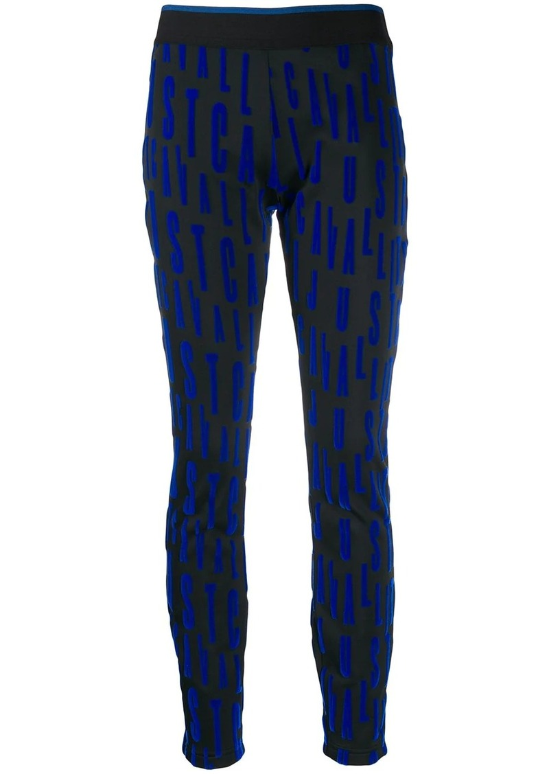Just Cavalli repeat logo trousers